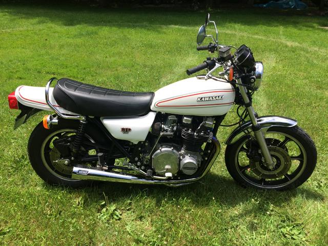 Used 1979 Kawasaki KZ1000LTD Transaction Price $4,500 , Motorcycles